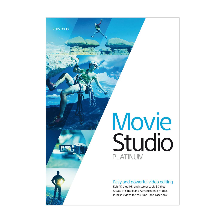VEGAS Movie Studio 13 Platinum [Download] by MAGIX