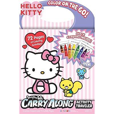 Bendon Hello Kitty Carry Along Activity Traveler book: Toys & Games