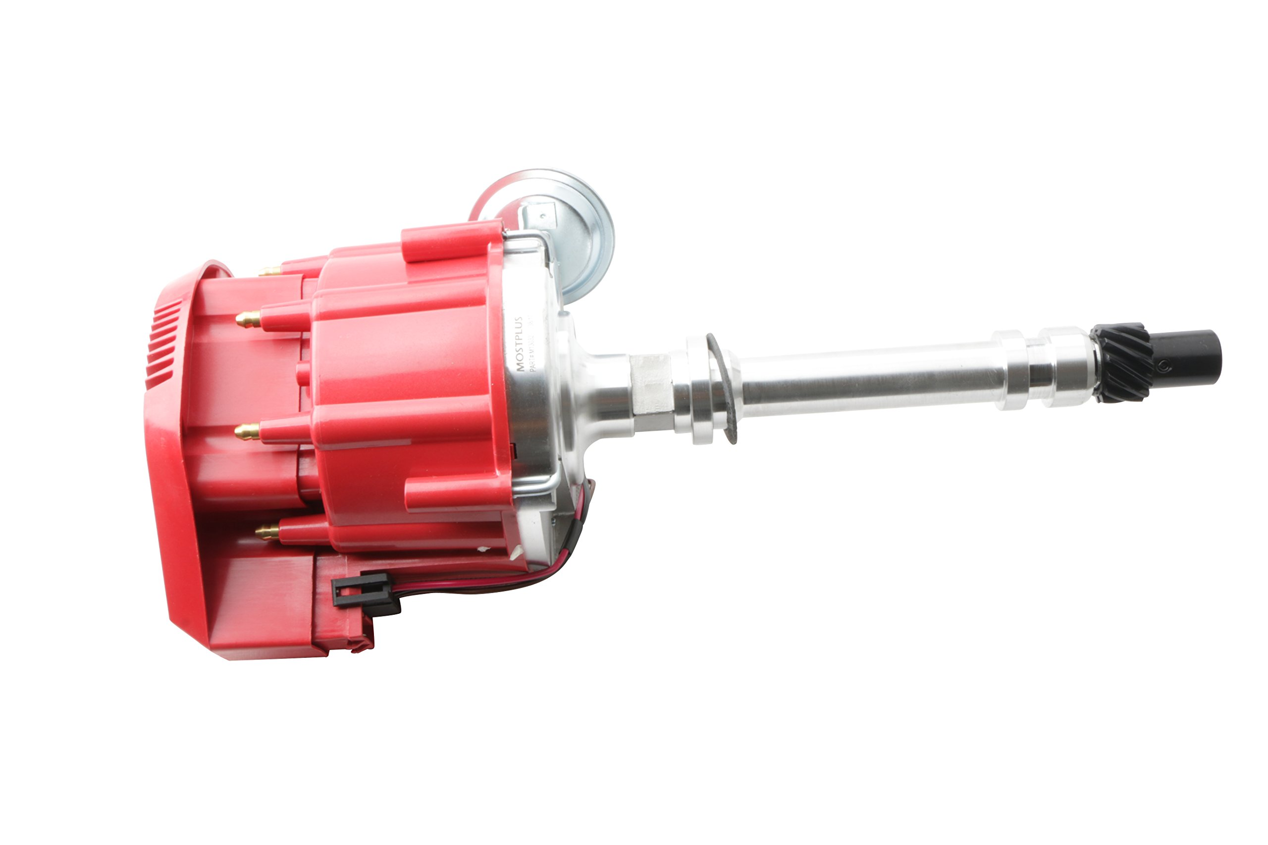 Mostplus New Racing Hei Distributor Red Cap Super Coil For Chevy Sbc 305 350 400 Small Block 1035001 M13032 Distributors Automotive Tibs