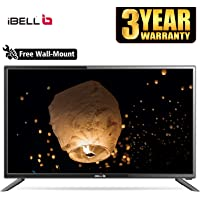 iBELL 98 cm (40 inches) HD Ready LED TV IBLLE401H (Black) (2019 Model)