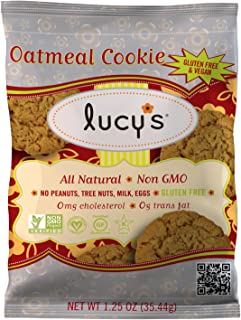 product image for Lucy's Oatmeal Cookies, 1.25 Ounce Packages (Pack of 16)