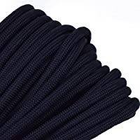 Bored Paracord - Over 300 Colors 1', 10', 25', 50', 100' Hanks & 250', 1000' Spools of Parachute 550 Cord Type III 7…