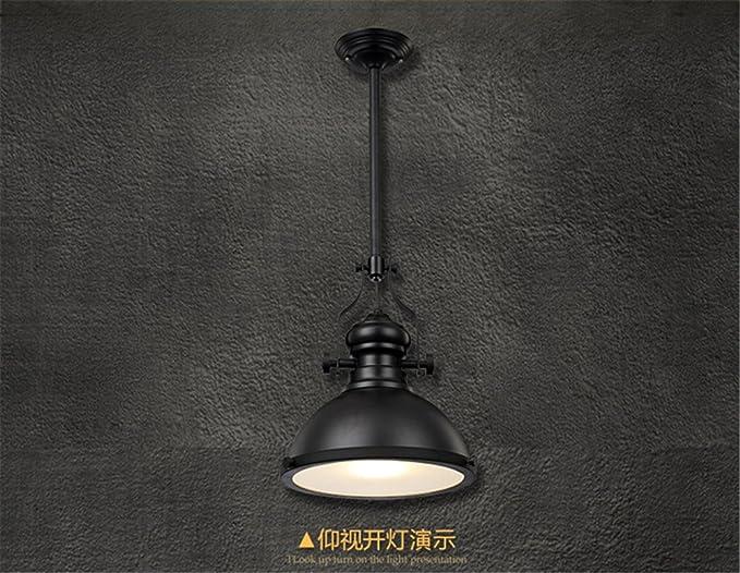 Lampadario Stile Rustico : Shengye stile rustico plafoniera lampada a sospensione bar