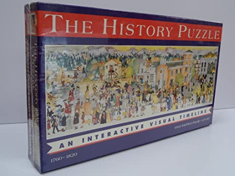 Amazon Com Great American Puzzle Factory 1760 1820 The History