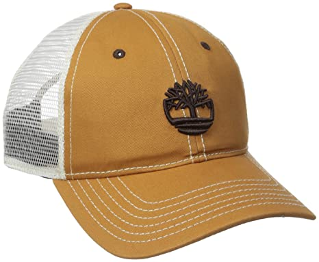 a4764e67d7d Timberland Men s Cotton Twill Trucker Cap