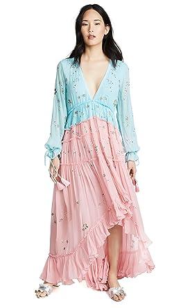 0f9f6d665b9 ROCOCO SAND Women s Star Light High Low Dress at Amazon Women s ...