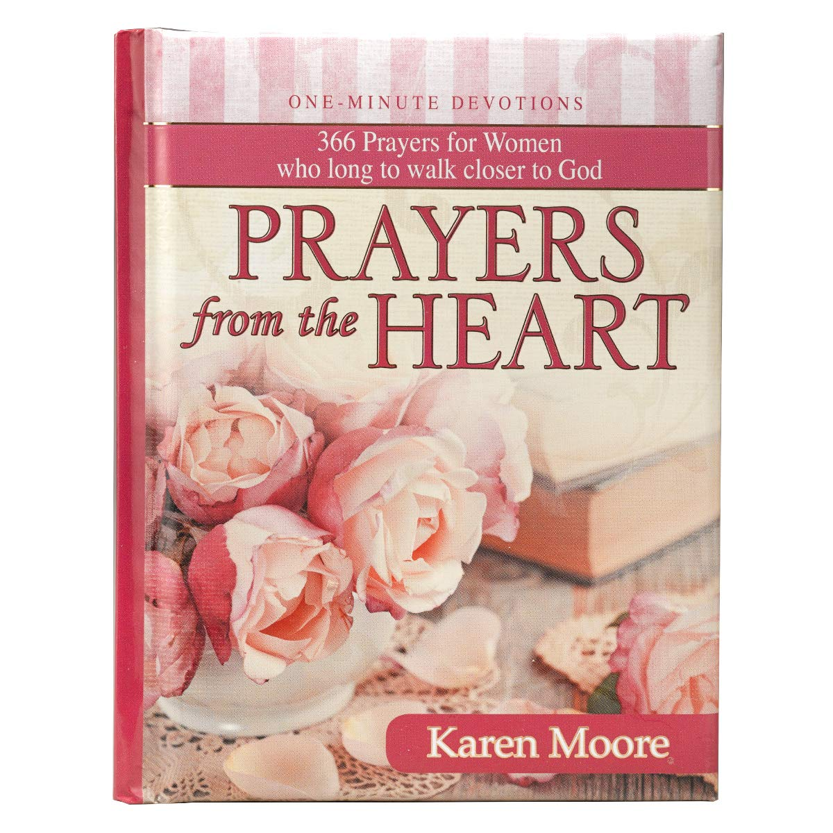 Prayers from the Heart: One-Minute Devotions: Karen Moore: 9781432109929:  Amazon.com: Books