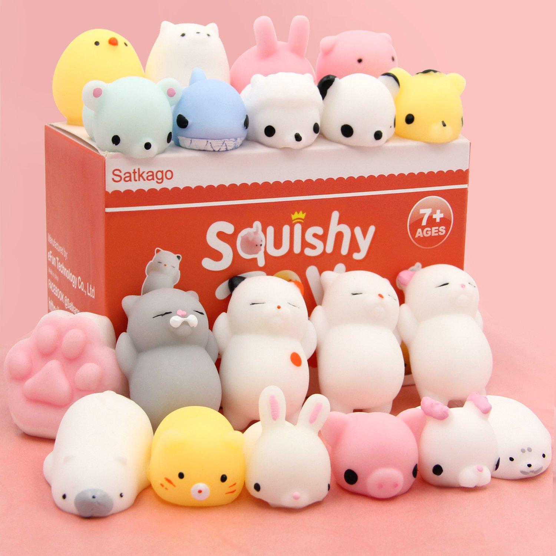 Squishy Sound Cat S Ear : Amazon.com : Squishy Cats Toys HAIYOO 9 Pcs Kawaii Soft Cats Squishies Mochi Squishy Squeeze ...