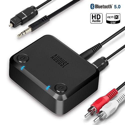August Bluetooth 5.0 オーディオトランスミッター MR270-HD