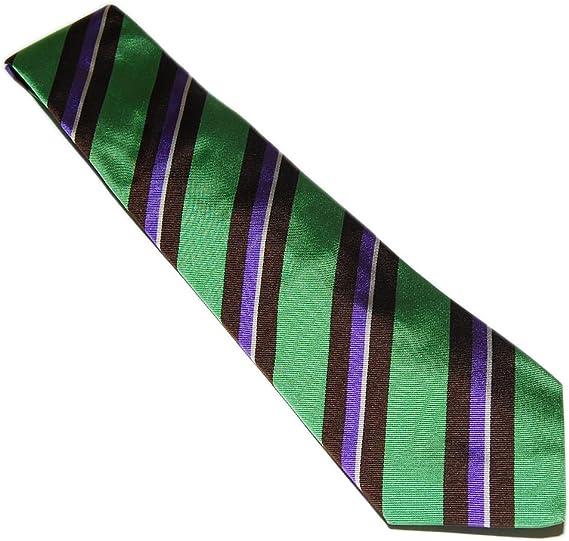 Ralph Lauren - Corbata de seda hecha a mano con etiqueta morada ...