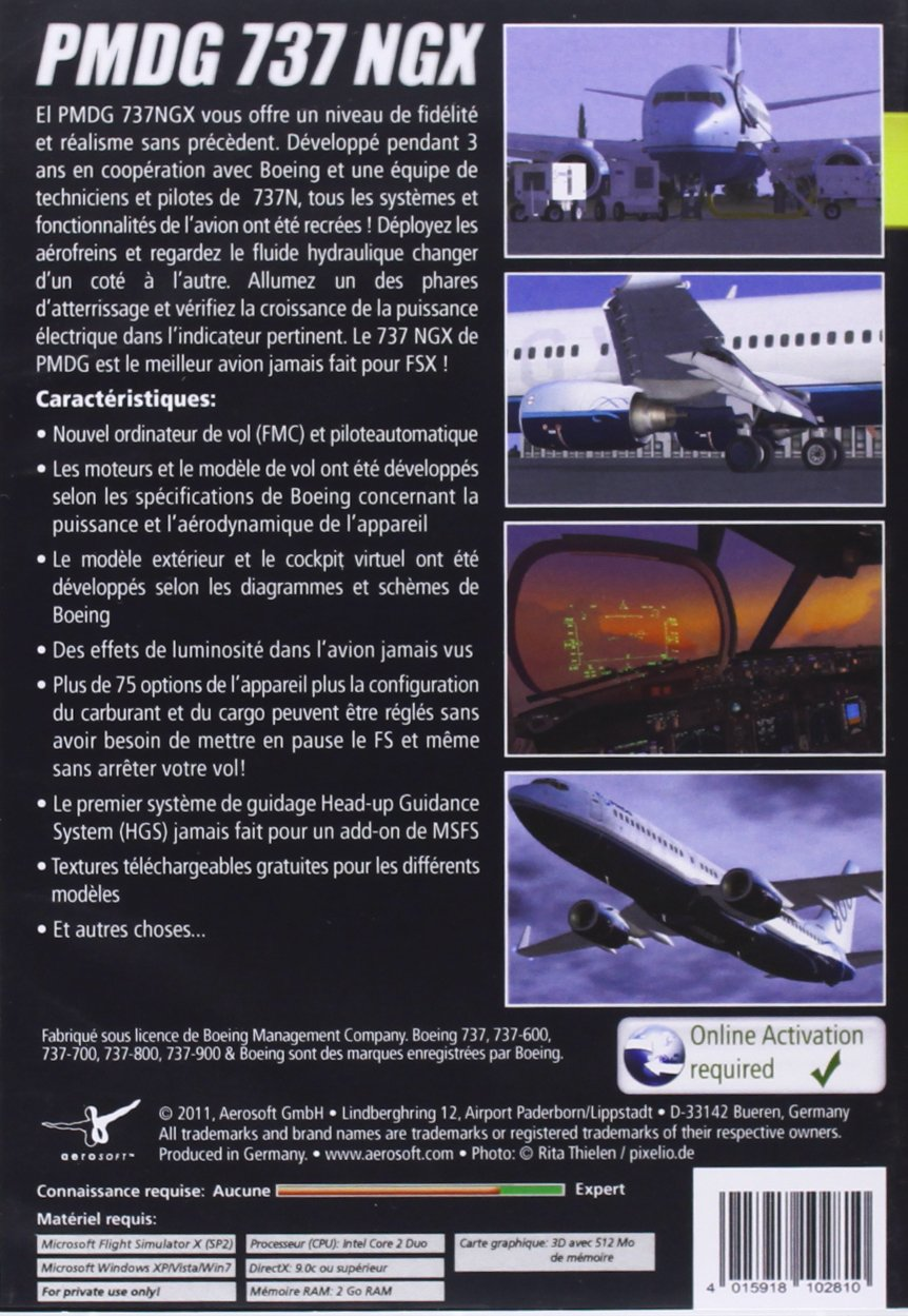 Amazon com: PMDG 737 NGX - Windows: Video Games