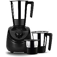 Butterfly Elegant 3 Jar Mixer Grinder 750W, Black, BEL17457
