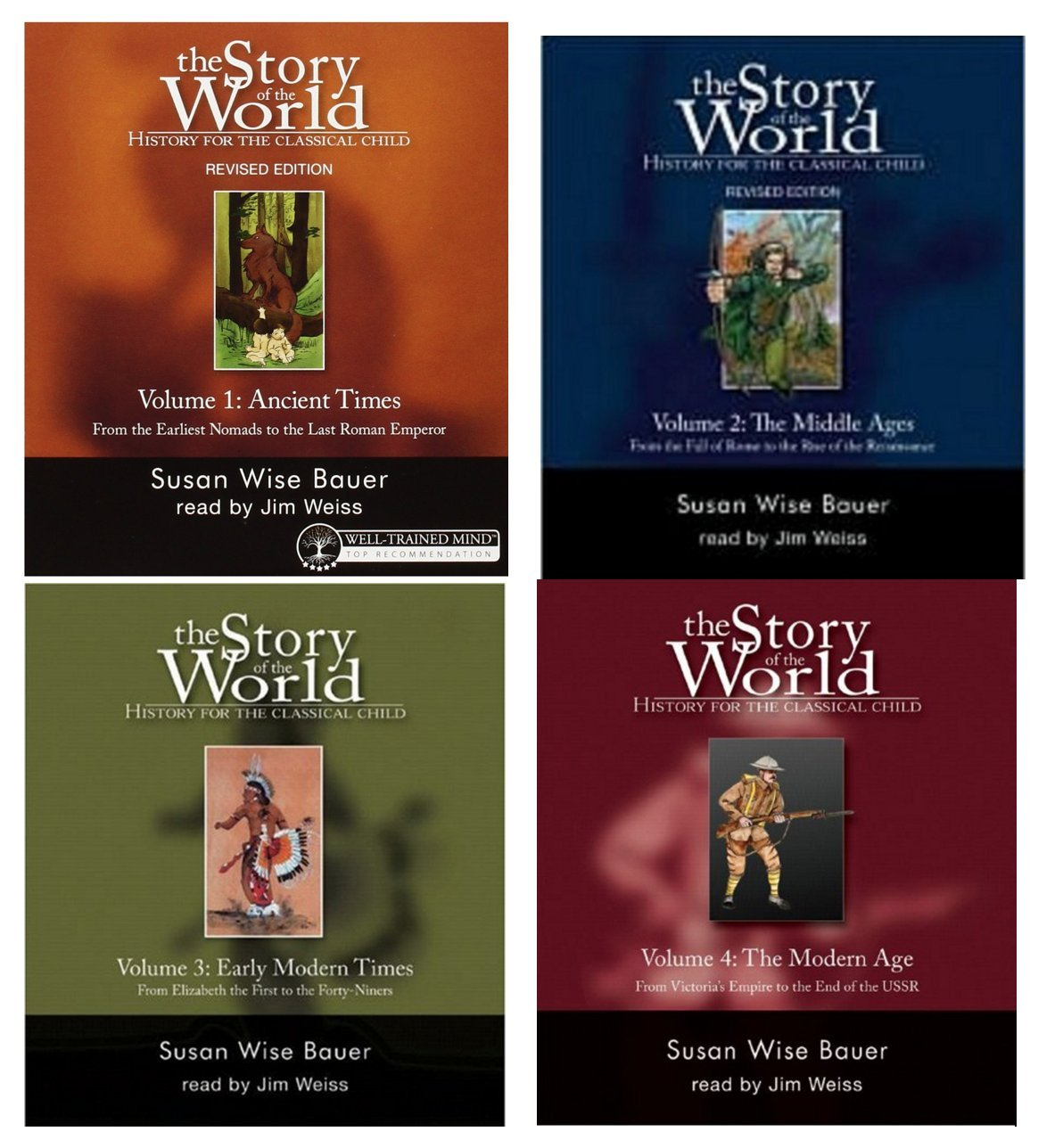 Story of the World Audiobook Collection, Volumes 1-4 Books on CD pdf