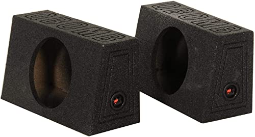 2 Qpower QBOMB Single 12 Subwoofer Boxes