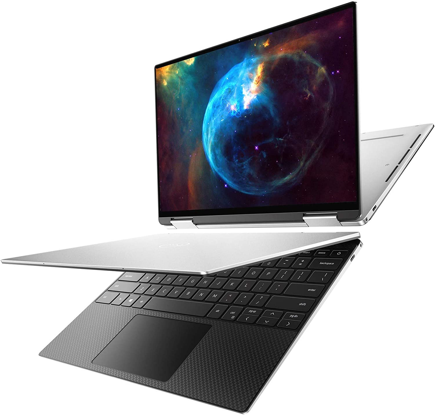Dell XPS 13 7390 2-in-1 Convertible 13.4-inch FHD InfinityEdge Touchscreen Laptop (Silver) Intel Core i7-1065G7 10th Gen, 32GB RAM, 512GB SSD, Windows 10 Home (XPS7390-7954SLV-PUS) (Renewed)