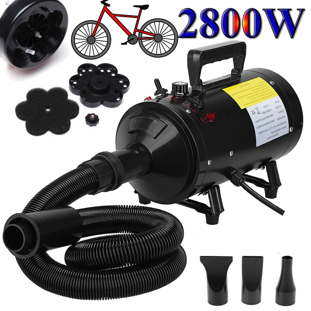 Motorcycle Power Dryer, Portable Car Dryer,Bike Dryer Blower,Vechicle Dryer and Duster for Detailing - Dry and Dust Inaccessible Areas with High Pressure Air Flow ZanGe Factory