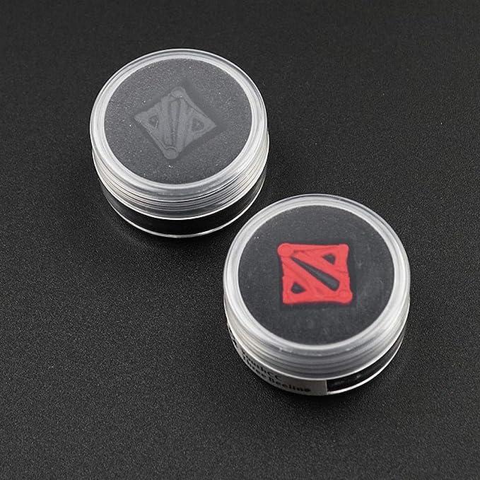 Keyboard keycaps Handmade DOTA2 Logo Backlight Resin Keycaps for Mx Switch Mechanical Keyboard Decoration ESC Black Red Color Keycaps Color : No Backlight