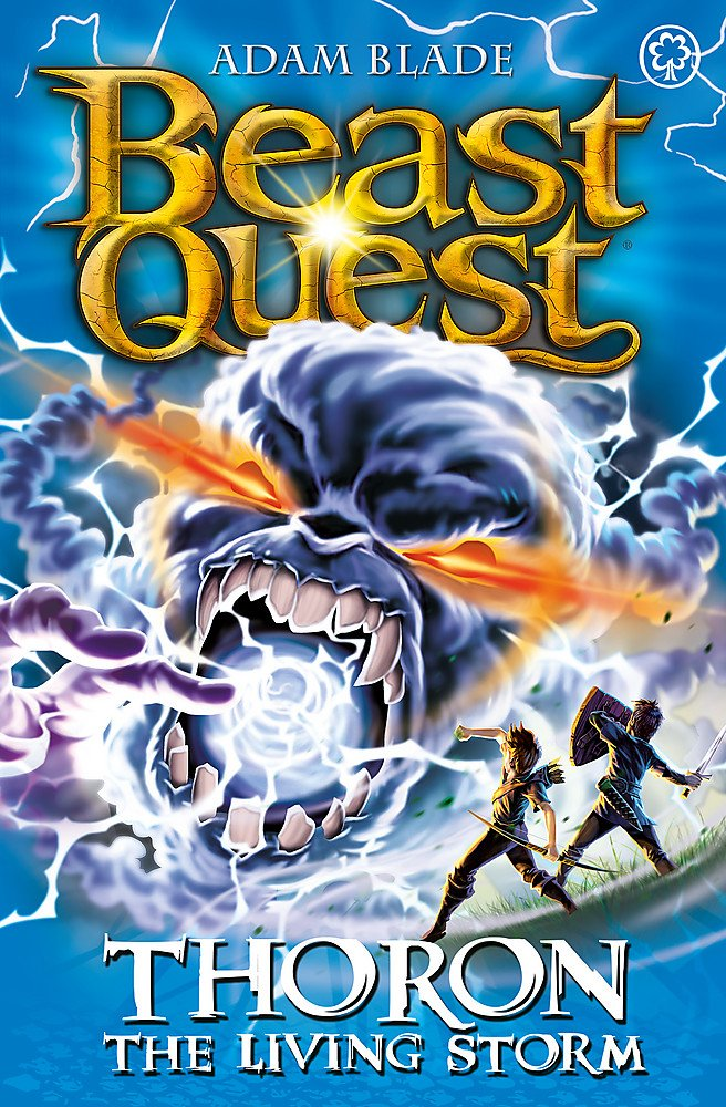 Download Beast Quest: 92: Thoron the Living Storm PDF ePub fb2 ebook