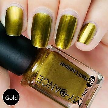 Amazon Wondere Flow Gold Mirror Chrome Effect Nail Polish No