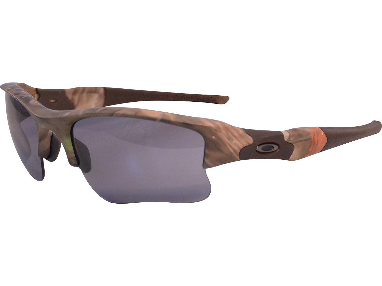 f7f5ba0f48 Oakley Men s MPH Flak Jacket XLJ Sunglasses - Woodland Camo Gray  (OO9009-24)  Amazon.ca  Clothing   Accessories