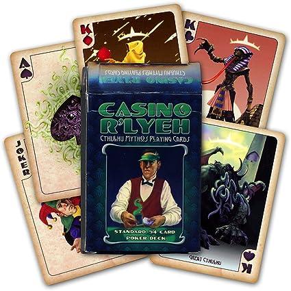 Casino R lyeh Cthulhu Mythos – Juego de cartas: Amazon.es: Deportes y aire libre