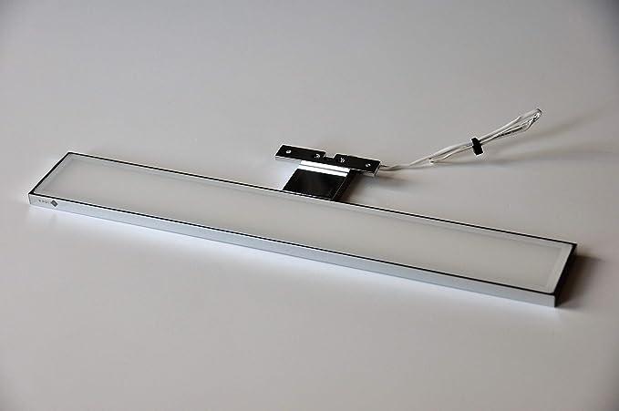 Lampada applique led da specchio per bagno vela 60 x 11 x 1.40 cm