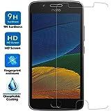LASTIOFFER - Protector De Pantalla Premium Para Motorola Moto G5s Vidrio Cristal Templado Ultra Resistente A Golpes Y Rayado 9H 2,5D de 0,33 mm
