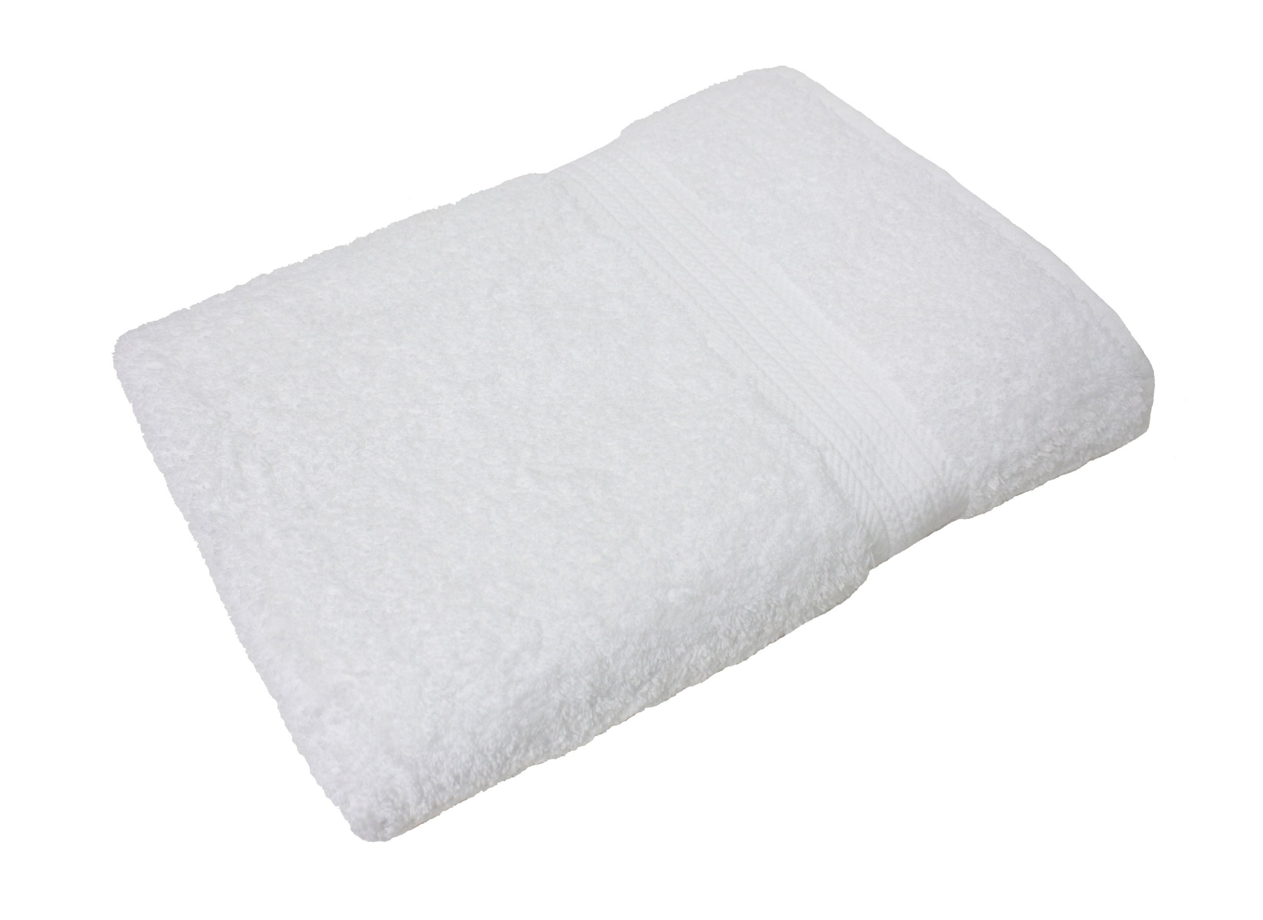 J&M Home Fashions Oversized Extra Large Cotton Bath Towel, 30x60, Hotel & Spa Quality, Super Soft and Ultra Absorbent for Bathroom & Washroom-White