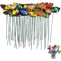 ZoneYan Estacas Decorativas de Mariposas*50, Estacas de Mariposas Decoracion, Mariposas Estacas Decorativas, Adornos de…