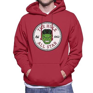 d97ef1383c203e The Incredible Hulk All Star Converse Logo Men s Hooded Sweatshirt ...