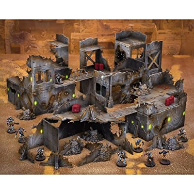 Mantic Games: Terrain Crate Ruined City: Toys & Games