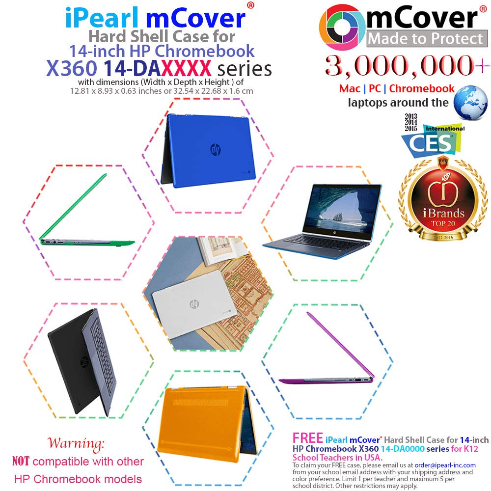 7dc64fbd227 Amazon.com: mCover Hard Shell Case for 14