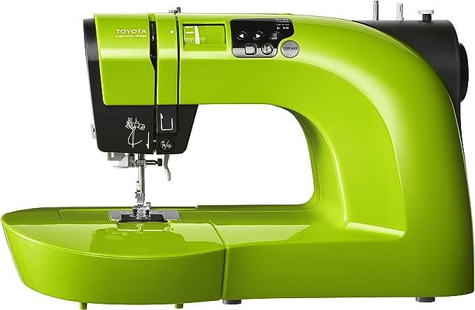 Toyota oeka ki50lg Coser Brazo Libre, plástico, Verde, 23, 4 x 47 x 29, 4 cm: Amazon.es: Hogar