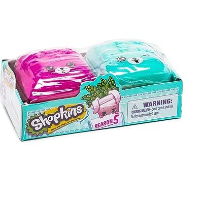Shopkins Season 5 Blind Bundle - 6 Sets of 2 Backpacks: Toys & Games