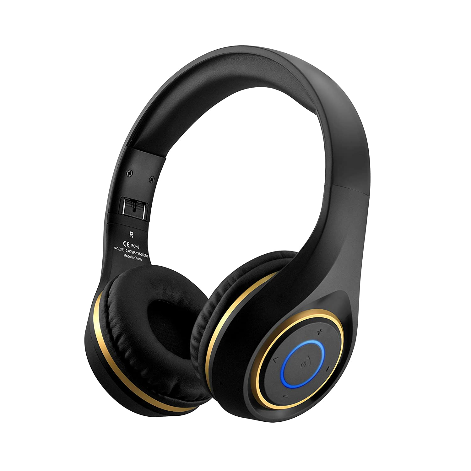 Bluetooth Headphones Sports Wireless Earphones Headset Noise Cancelling CSR Chip Super Bass Long Playtime Foldable Built-in Microphone Volume Control Over Ear Gym Running Bluetooth Headband Earbud