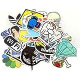 StillCool Aufkleber 100 Stück für Skateboard Snowboard-Weinlese-Vinylaufkleber-Graffiti Laptop Gepäck Auto-Fahrrad-Decals mischen Lot Art- und Weisekühler