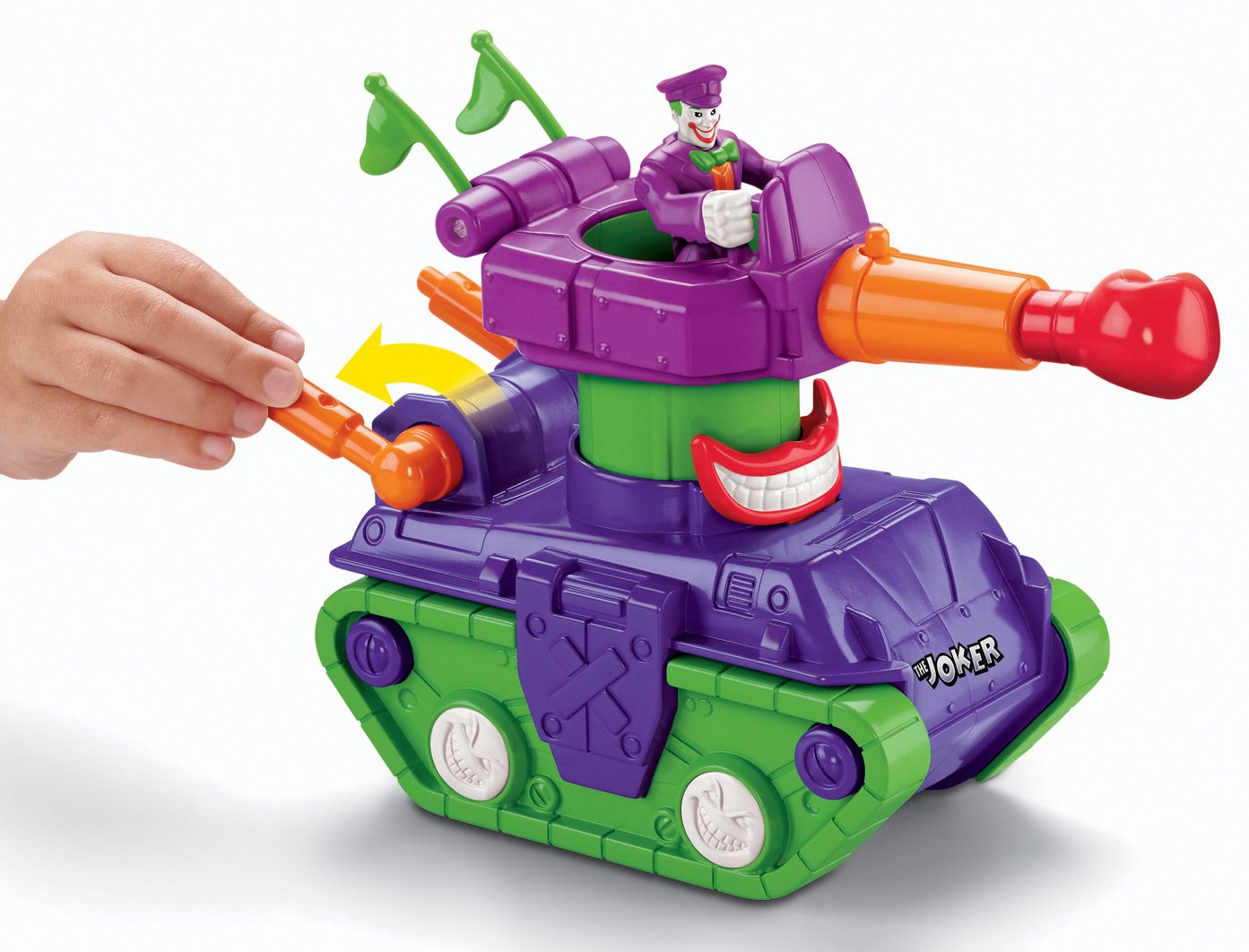 Fisher-Price Imaginext DC Super Friends, Joker Tank by Fisher-Price (Image #4)