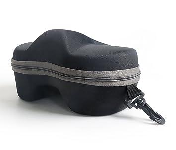 HLC-Funda compacta para todo tipo de HLC Gafas de buceo, para lentes de natación y gafas de sol,19CM*13CM*10CM