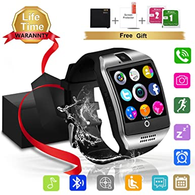 18c4c6250c Smart Watch Bluetooth Smartwatch TouchScreen SIM Card Slot, Waterproof Phones  Smart Wrist Watch Sports Fitness