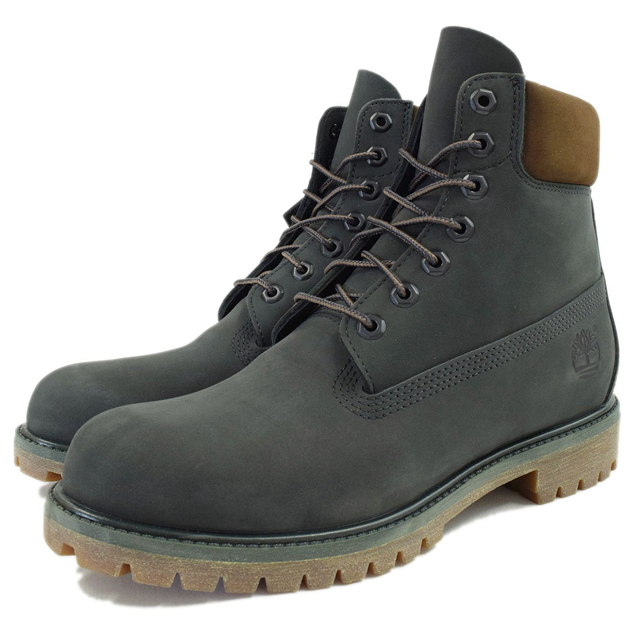 (ティンバーランド) Timberland ブーツ メンズ アイコン 6インチ プレミアム ダークアーバン シック ウォーターバック ヌバック B01LX3A114 26.0 cm
