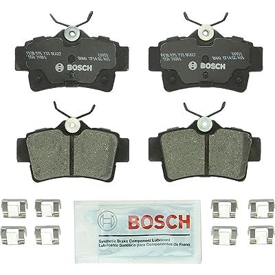 Bosch BC627 QuietCast Premium Ceramic Disc Brake Pad Set For Ford: 1994-2004 Mustang; Panoz: 1999-2000 AIV Roadster, 2001-2007 Esperante; Rear: Automotive