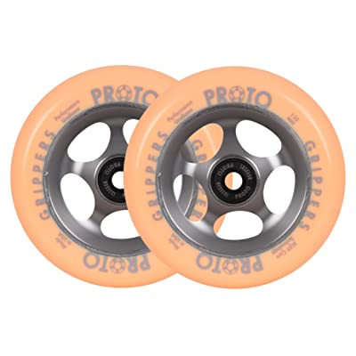Proto Gripper dégradé Pro 110 mm Scooter Roues – Gris/orange