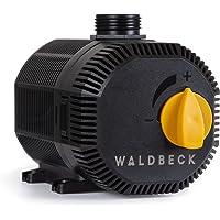 Waldbeck Nemesis T35 Bomba de agua - Bajo consumo, 35 W de potencia, Máx. 2 m de altura de extracción, Protección IPX8 muy seguro, Caudal de 2.300 L/h, Cable de 10 m, 1,6 Kg, Negro