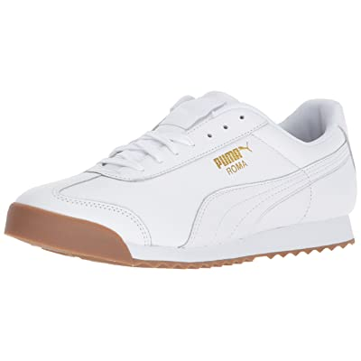 PUMA Men's Roma Classic Gum Sneaker | Fashion Sneakers