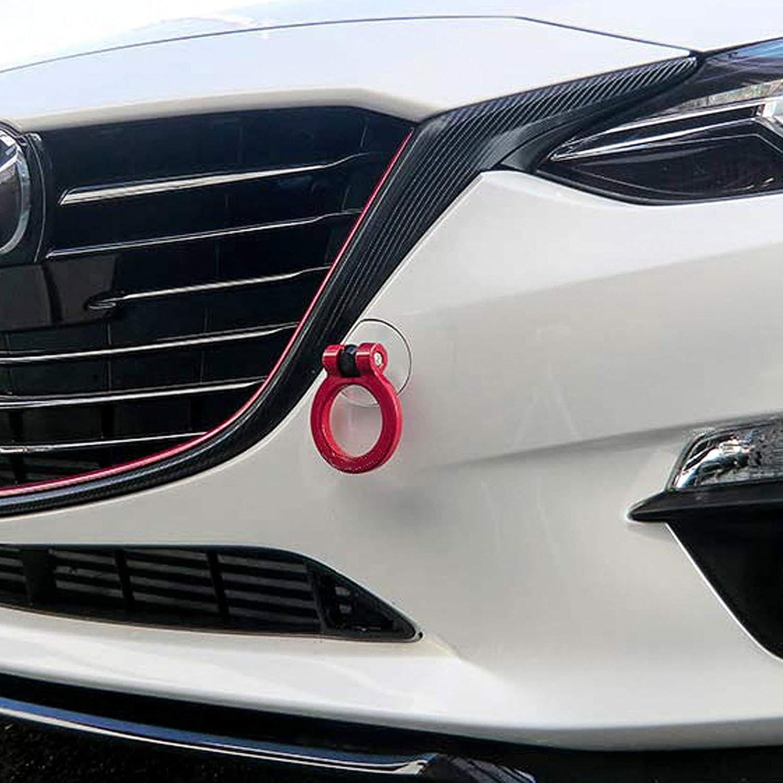 Xotic Tech Neo JDM Sporty CNC Aluminum Front Bumper Tow Hook for Mazda CX-5 2013-2018 Fit Mazda MX-5 Miata 2016-2018