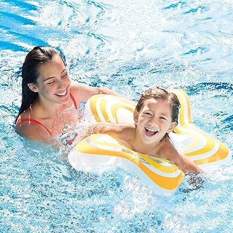 Pentagrama Hinchable colchonetas Piscina Inflable Flotador Piscina para Adultos y Niños Hinchables Juguete para Fiesta de Piscina: Amazon.es: Deportes y aire libre