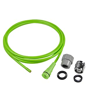Next By Danco Clear-It Water Pressure Drain Opener & Cleaner|Drain Clog Remover|Drain Snake, Drain Auger|Quick Connect Adapter for Sink Faucets & Garden Hose|10-Ft. Hose (10881)
