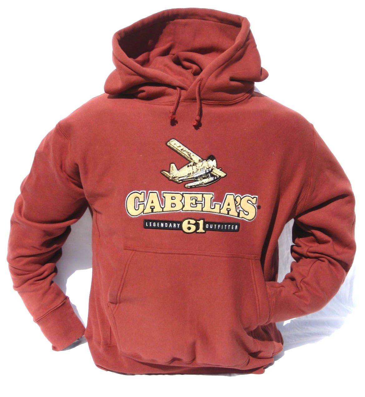 de316a041a082 Amazon.com : Cabela's Deer, Lab, Duck, Float Plane HeavyWeight Hunting  Hoodie : Clothing