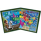 national parks fun quarter map made in usa and designed for kids