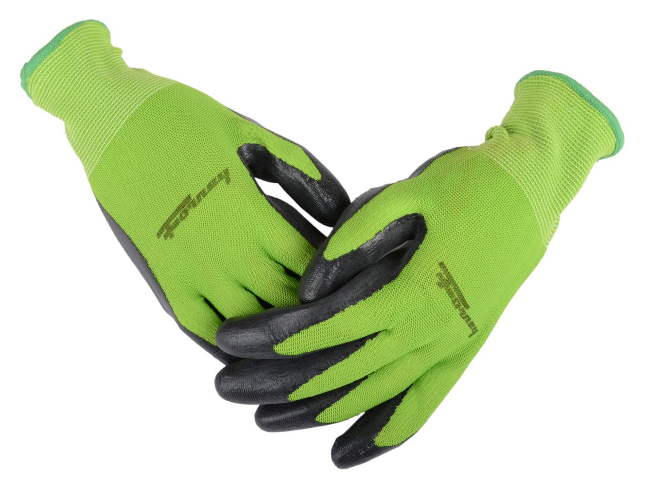 Forney 53221 Nitrile-Dipped Seamless Knit Premium Mens Gloves Small
